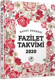 2020 Fazilet Takvimi Yurtiçi 6. Bölge Ciltli Takvim (10x14)