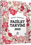 2020 Fazilet Takvimi Yurtiçi 7. Bölge Ciltli Takvim (10x14)