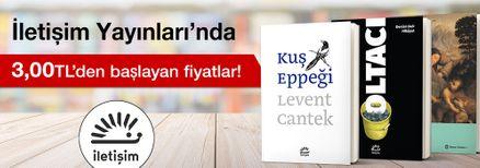 İletişim Yayınları'nda 3,00 TL'den Başlayan Fiyatlar Kampanyası