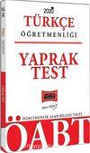 2020 ÖABT Türkçe Öğretmenliği Yaprak Test
