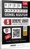 2020 KPSS'nin KareKodu Genel Kültür Tamamı Video Çözümlü 5 Deneme Sınavı