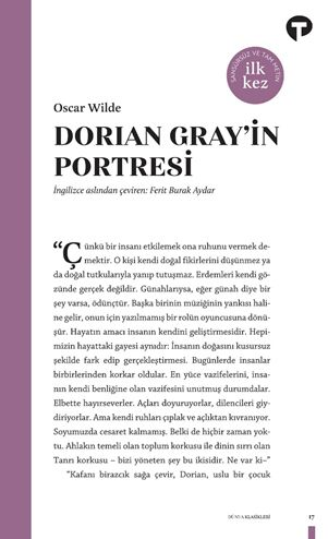 Dorian Gray'in Portresi - Oscar Wilde pdf epub