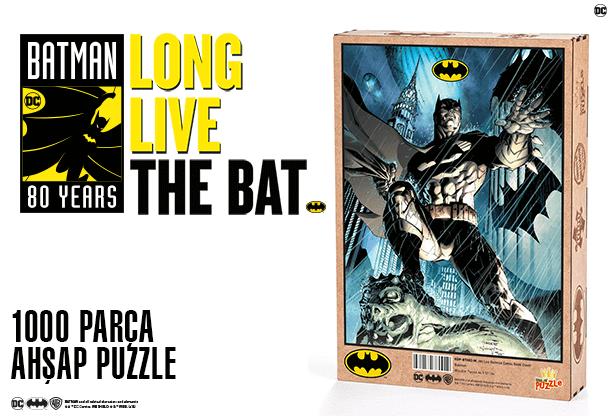 Batman 1.000 Parça Ahşap Puzzle