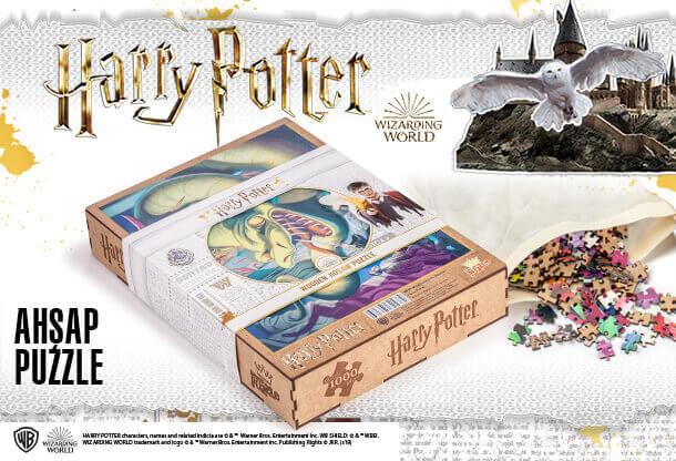 Harry Poter Ahşap Puzzle