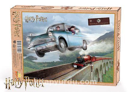 Harry Potter - Hogwart's Express Ahşap Puzzle 1000 Parça (KOP-HP045 - M) Lisanslı Ürün