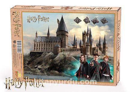 Harry Potter - Hogwarts Castle Ahşap Puzzle 1000 Parça (KOP-HP046 - M) Lisanslı Ürün
