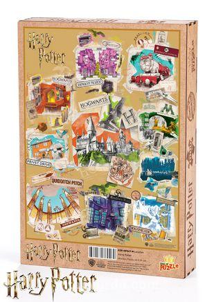 Harry Potter - Location Ahşap Puzzle 1000 Parça (KOP-HP047 - M) Lisanslı Ürün
