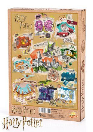 Harry Potter - Location Ahşap Puzzle 500 Parça (KOP-HP052 - D) Lisanslı Ürün