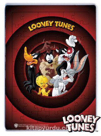 Looney Tunes - That's All Folks Ahşap Puzzle 54 Parça (KOP-LT022 - LIV) Lisanslı Ürün