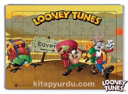 Looney Tunes - Egyptian Adventure Ahşap Puzzle 54 Parça (KOP-LT021 - LIV) Lisanslı Ürün