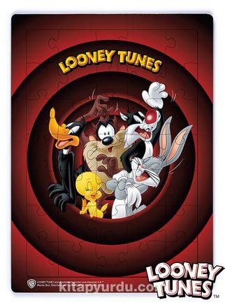 Looney Tunes - That's All Folks Ahşap Puzzle 35 Parça (KOP-LT019 - XXXV ) Lisanslı Ürün