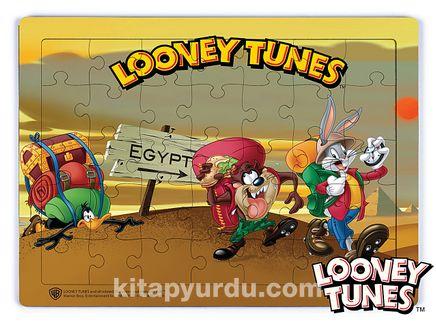 Looney Tunes - Egyptian Adventure Ahşap Puzzle 35 Parça (KOP-LT018 - XXXV) Lisanslı Ürün