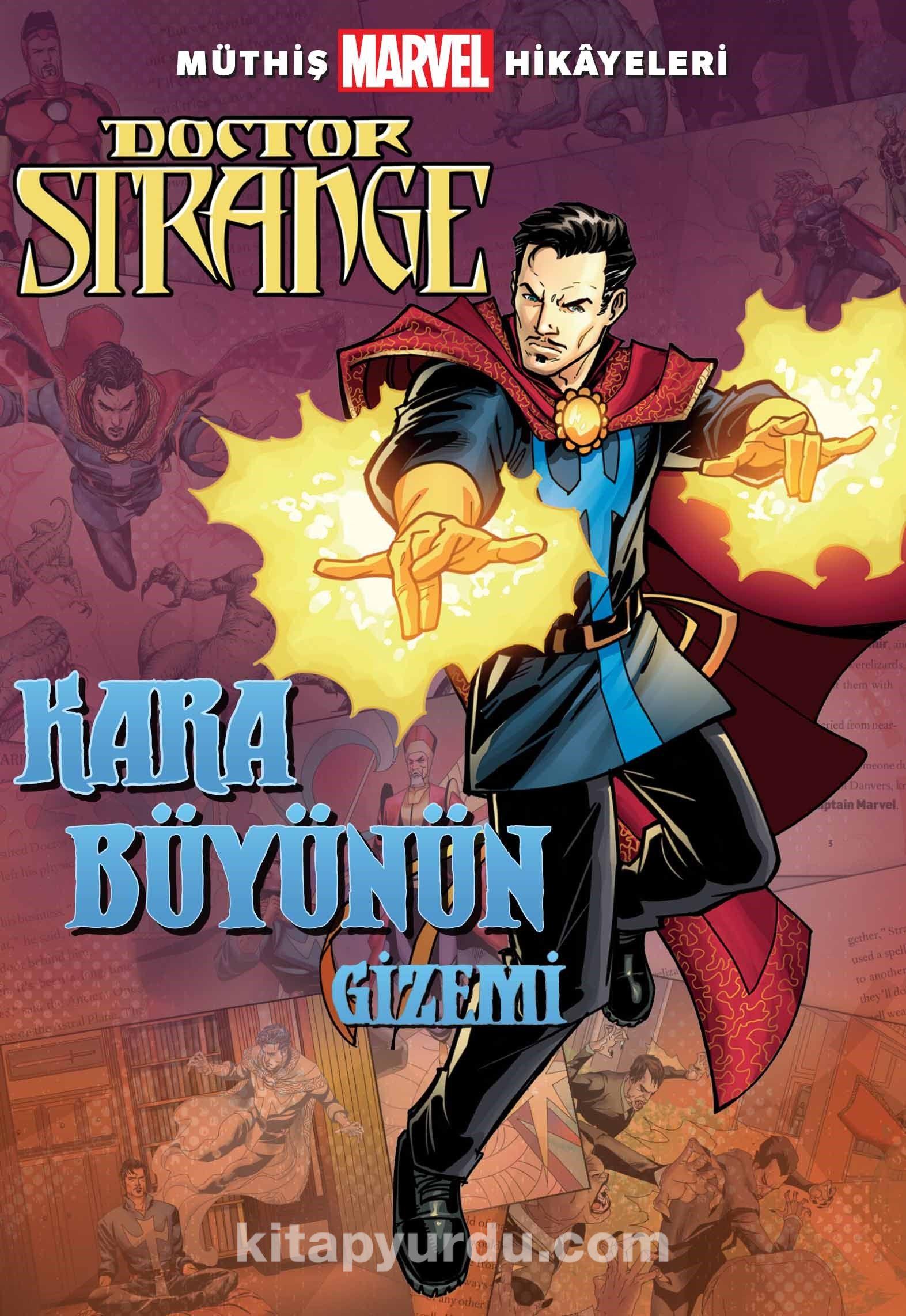 Müthiş Marvel Hikayeleri / Doctor Strange Kara Büyünün Gizemi - Brandon T. Snider pdf epub