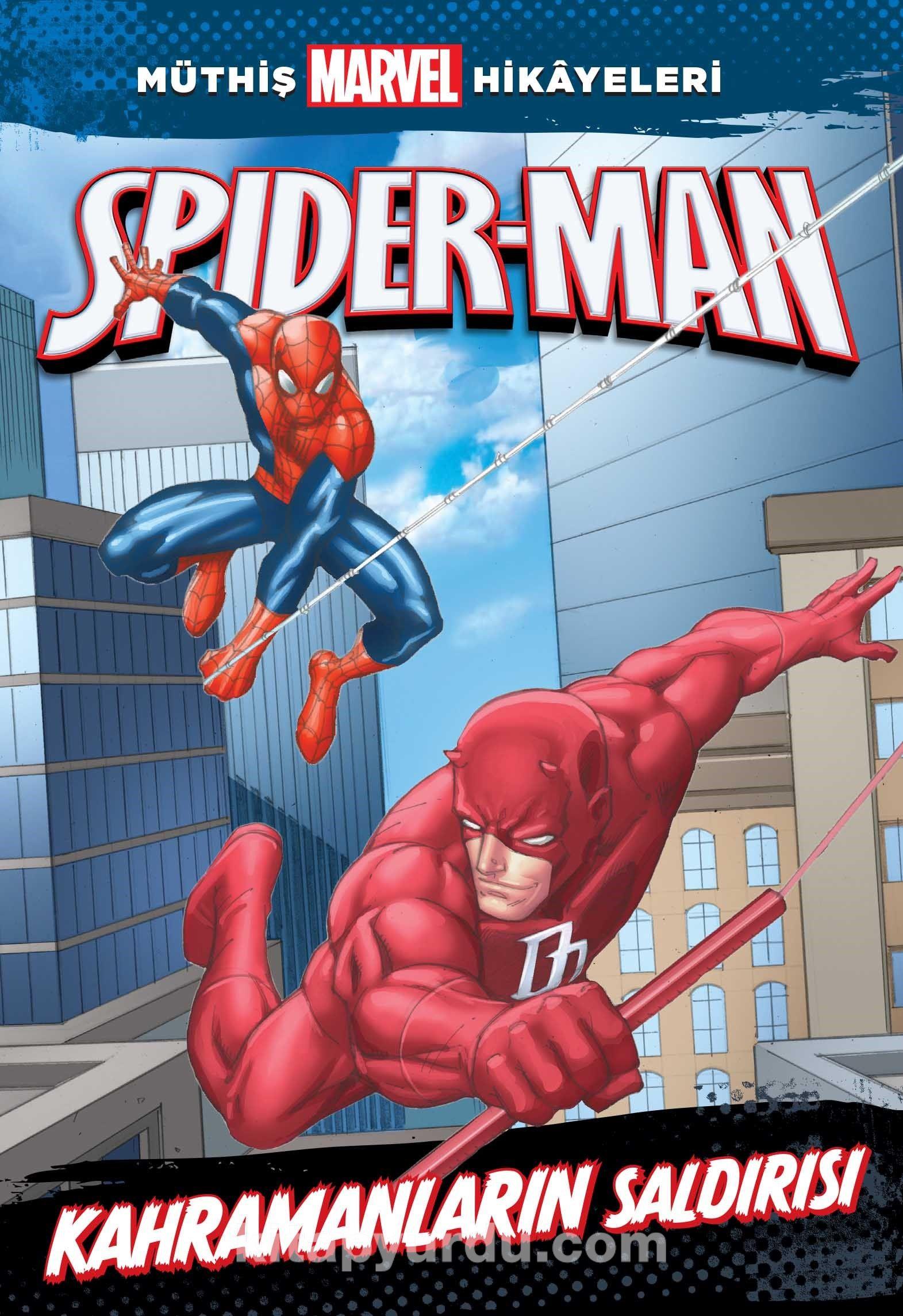 Müthiş Marvel Hikayeleri / Spider-Man Kahramanların Saldırısı - Rich Thomas JR. pdf epub