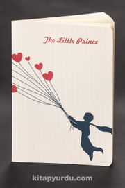 Akıl Defteri - The Little Prince - Heart Balloons (Cep Boy)