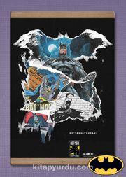 Full Frame Kanvas Poster Magnetli - Batman 80th Anniversary (FF-BT005)