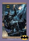 Full Frame Kanvas Poster Magnetli - Jim Lee Batman Comic Book Cover (FF-BT006)