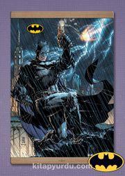 Full Frame Kanvas Poster Magnetli - Jim Lee Batman Comic Book Cover (FF-BT006)