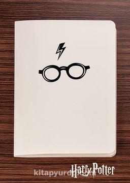 Harry Potter / Symbol - Glasses - Dokun Hisset Serisi (AD-HP016) Lisanslı Ürün   (Cep Boy) Lisanslı Ürün