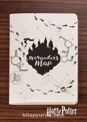 Harry Potter / Symbol - Marauder's Map - Dokun Hisset Serisi (AD-HP018) (Cep Boy)