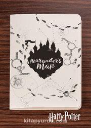 Harry Potter / Symbol - Marauder's Map - Dokun Hisset Serisi (AD-HP018) Lisanslı Ürün   (Cep Boy) Lisanslı Ürün