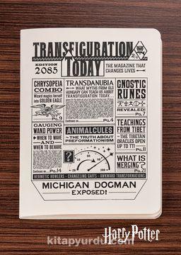 Harry Potter / Newspaper - Transfiguration Today - Dokun Hisset Serisi (AD-HP026) Lisanslı Ürün   (Cep Boy) Lisanslı Ürün