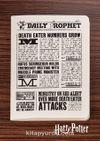 Harry Potter / Newspaper - Daily Prophet II- Dokun Hisset Serisi (AD-HP028) Lisanslı Ürün   (Cep Boy) Lisanslı Ürün