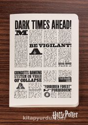 Harry Potter / Newspaper - Inside - Dokun Hisset Serisi (AD-HP029) (Cep Boy)