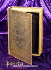 Yaldızlı Ahşap Kutu - Hogwarts Golden (BK-HP001)