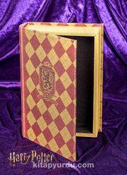 Yaldızlı Ahşap Kutu - Gryffindor (BK-HP003)