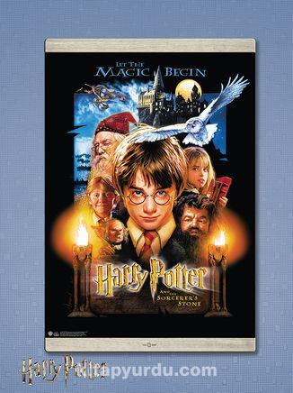 Full Frame Kanvas Poster Magnetli - Harry Potter and the Sorcerer's Stone (2001) Lisanslı Ürün    FF-HP001) Lisanslı Ürün