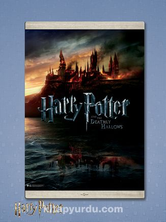 Full Frame Kanvas Poster Magnetli - Harry Potter and the Deathly Hallows Part 1 (2010) Lisanslı Ürün   (FF-HP003) Lisanslı Ürün