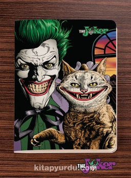 Joker Defter - Dokun ve Hisset Serisi (AD-JK004) Lisanslı Ürün