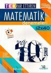 10. Sınıf Matematik TEK 12 x 40 Deneme
