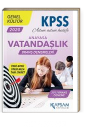 KPSS Genel Kültür Vatandaşlık (Anayasa) Branş Denemeleri 20 Deneme