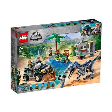LEGO Jurassic World Baryonyx Karşılaşması Hazine Avı (75935)