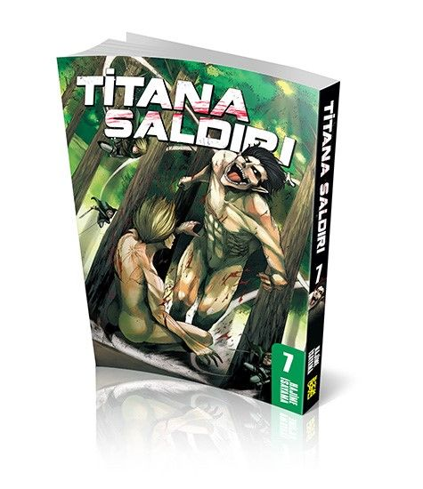 Titana Saldırı 7 - Hajime İsayama pdf epub