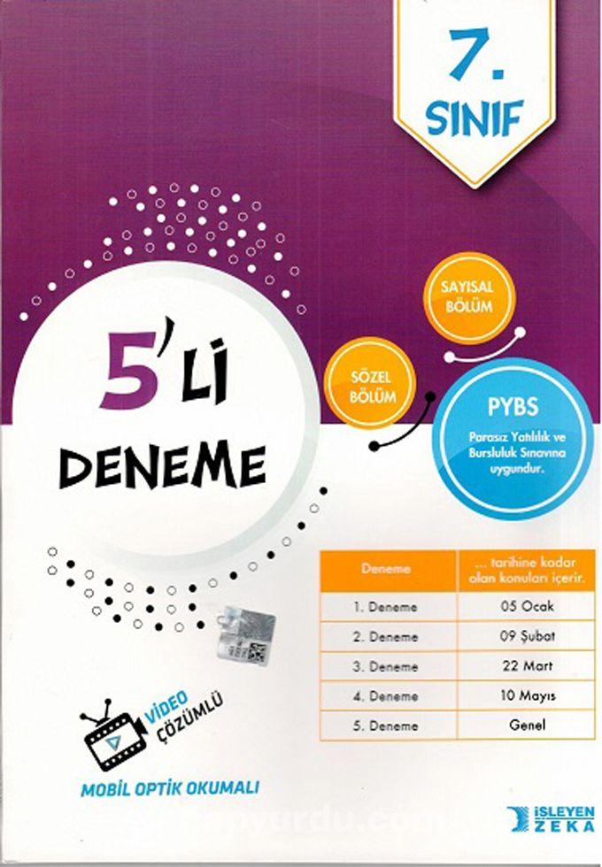 7. Sınıf 5'li Deneme - Kollektif pdf epub