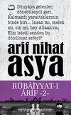 Rübaiyyat-ı Arif 2