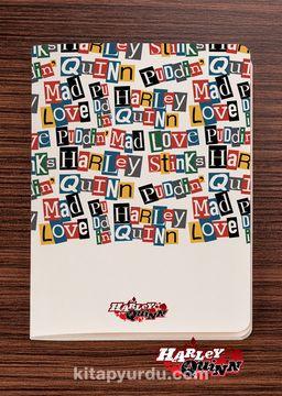 Akıl Defteri - Harley Quinn - Words - Dokun Hisset Serisi (AD-HQ010) Lisanslı Ürün   (Cep Boy) Lisanslı Ürün