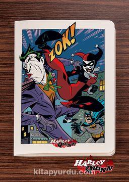 Akıl Defteri - Harley Quinn - Zok - Dokun Hisset Serisi (AD-HQ009) Lisanslı Ürün   (Cep Boy) Lisanslı Ürün