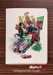 Akıl Defteri - Harley Quinn - Metropolis - Dokun Hisset Serisi (AD-HQ006) (Cep Boy)