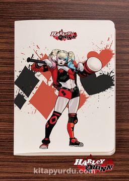 Akıl Defteri - Harley Quinn - Diamonds - Dokun Hisset Serisi (AD-HQ005) Lisanslı Ürün   (Cep Boy) Lisanslı Ürün