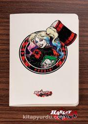 Akıl Defteri - Harley Quinn - Puddin - Dokun Hisset Serisi (AD-HQ004) (Cep Boy)