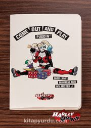 Akıl Defteri -  Harley Quinn - Come Out and Play  - Dokun Hisset Serisi (AD-HQ002) (Cep Boy)