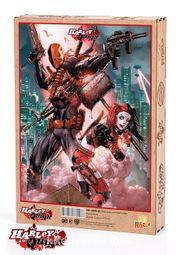 Harley Quinn - Harley Quinn and Deathstroke Ahşap Puzzle 1000 Parça (KOP-HQ058 - M)