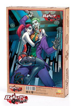 Harley Quinn - Harley Quinn and The Joker Ahşap Puzzle 1000 Parça (KOP-HQ055 -M) Lisanslı Ürün