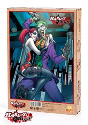 Harley Quinn - Harley Quinn and The Joker Ahşap Puzzle 1000 Parça (KOP-HQ055 -M)