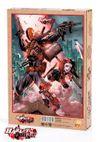 Harley Quinn - Harley Quinn and Deathstroke Ahşap Puzzle 500 Parça (KOP-HQ063 - D)