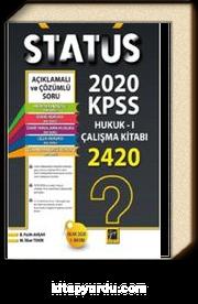 Status 2020 KPSS Hukuk 1 Çalışma Kitabı
